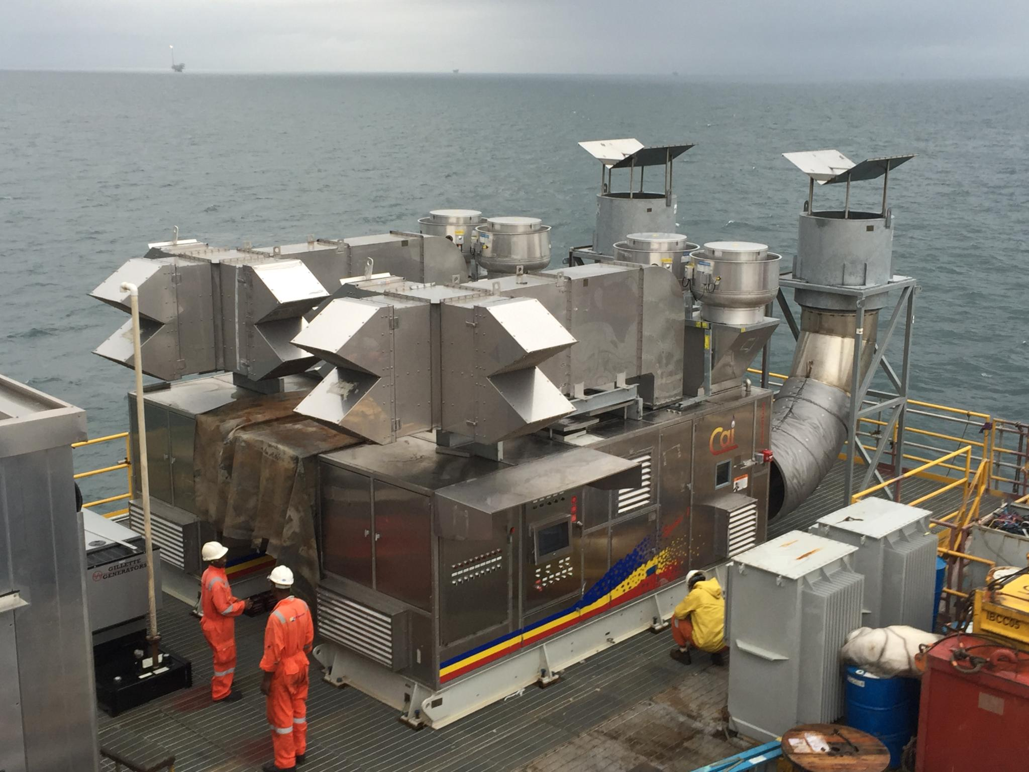 CAI's Off-Shore Platforms Power Generation Systems