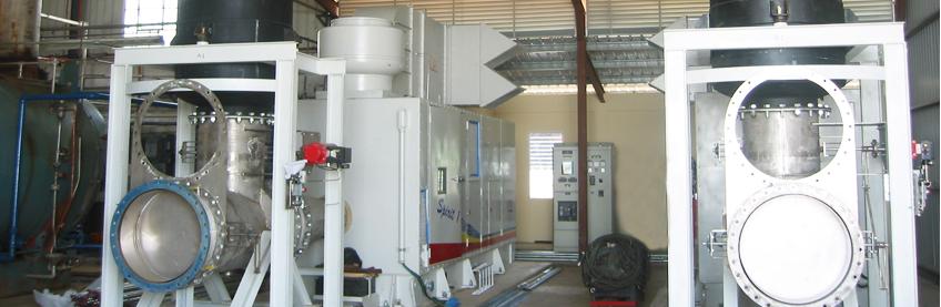Spirit 1 MW Gas Turbine Genset Installation at site