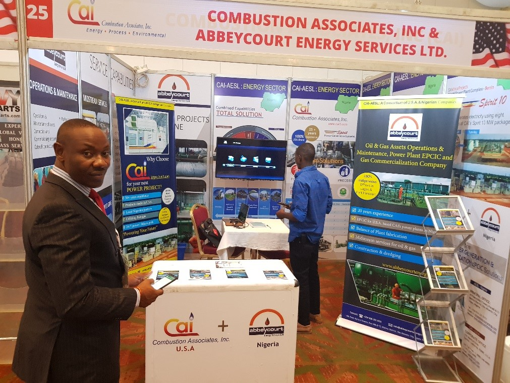 CAI's Booth Attracts Hundreds at the USA Fair 2019 in Nigeria