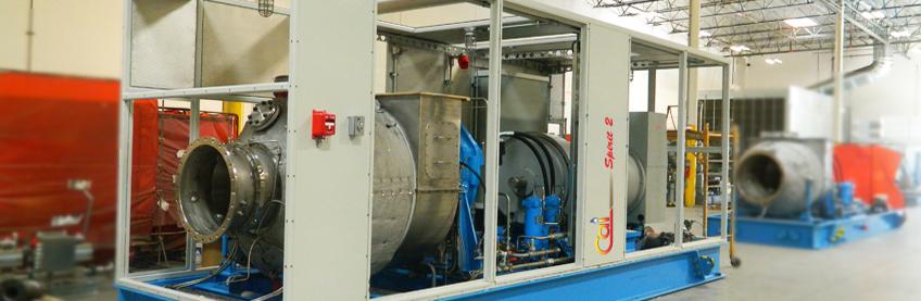 Spirit 2 MW Gas Turbine Genset under manufacturing
