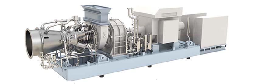 Spirit 6 MW & 7 MW Gas Turbine Genset component layout
