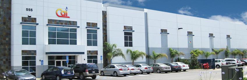 CAI company headquarters in Corona, California